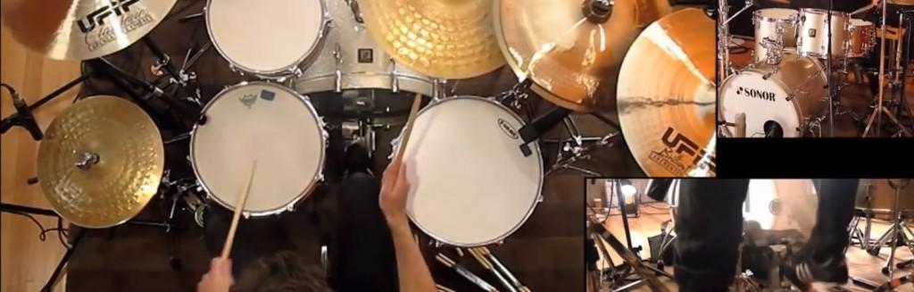The Mars Volta Drum Medley