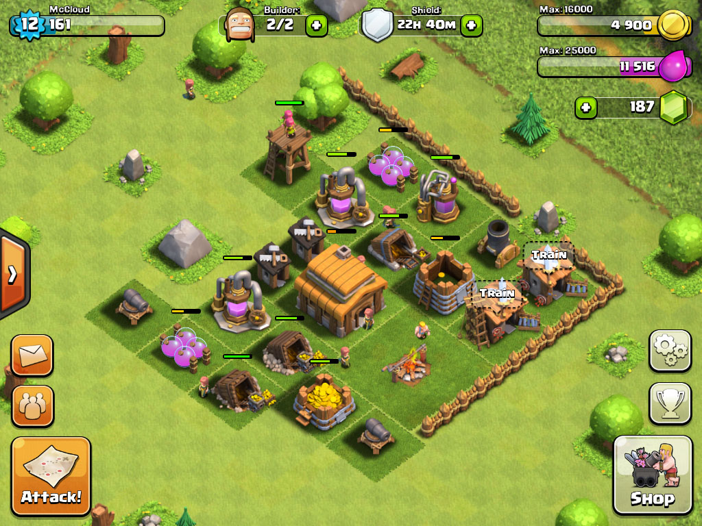 Clash of Clans Starting Base